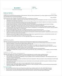Hr Recruitment Resume Sample by Recruiting Manager Resume Template Recruiter Resume Objective Hr