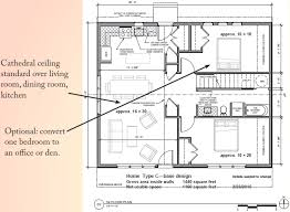 cohousing floor plans two three or four bedroom type c homes rocky corner cohousing