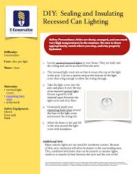 Insulation Around Recessed Lighting Air Sealing And Insulation Can Lights Nc State Extension