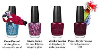 opi the muppets trendsetter nail polish collection fashionizers com