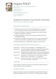 Resume Francais Welcome On The Site Of Hugues Piolet Infographics Designer