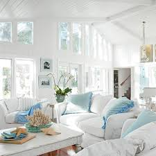 White Living Room Furniture Coastal Style Living Room Furniture Beach House Living Room