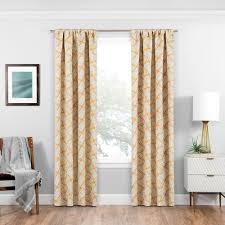 solaris blackout blackout liner white polyester rod pocket curtain