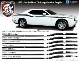 Dodge Challenger 2010 - dodge challenger graphics stripes decals u2013 streetgrafx
