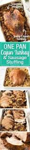 37 cooks roast turkey with cajun baked turkey breast and dressing stuffing recipetin eats