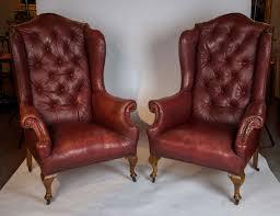 Wood Arm Chair Design Ideas Chair Design Ideas Tempting Leather Wingback Chair