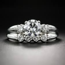 vintage wedding ring sets vintage engagement and wedding ring sets lang antiques