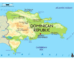 Physical Map Of North America Maps Of Dominican Republic Detailed Map Of Dominican Republic In