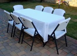 rent table and chairs table and chair rental michiana party rentals party tables and