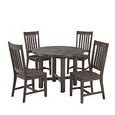 Small Dining Set by Amazon Com Home Styles Concrete Chic 5 Piece Dining Set Table