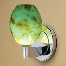 Yellow Wall Sconce Green Glass Wall Sconce Bellacor