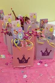 princess candy bags disney princess party teas birthdays and goody bags