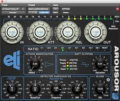 empirical labs arousor the compressor plugin from empirical labs