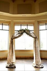 Wedding Arches Decorated With Burlap Best 25 Indoor Wedding Arches Ideas On Pinterest Ceremony