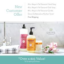 Fall Scents Fall Favorites Free Mrs Meyer U0027s Fall Scents Simply Kierste