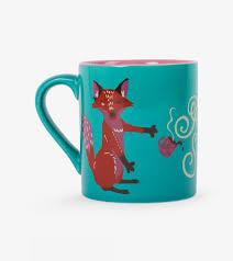 fox mug for fox sake mug little blue house by hatley canada