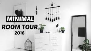 minimal room minimal room tour 2016 bedroom makeover youtube