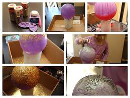 diy create a bowl out of sprinkles or glitter craft with kids