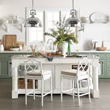 marble kitchen island table barrelson kitchen island with marble top williams sonoma