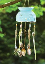 Unique Silverware by Craft This Unique Wind Chime Out Of Old Kitchen Utensils