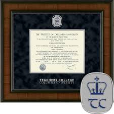 college diploma frame columbia bookstore church hill classics presidential