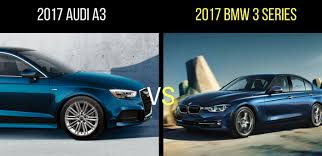 audi a3 vs bmw 3 series to 2017 audi a3 vs 2017 bmw 3 series autonation
