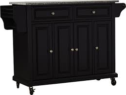 Darby Home Furniture Darby Home Co Pottstown Kitchen Cart Island With Granite Top