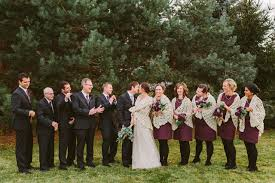 Plum Wedding Classic Plum And Gray Autumn Wedding Artfully Wed Wedding Blog