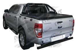 black tonneau cover ford ranger dc 2012 u003e