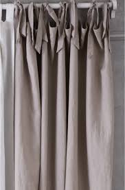 Tie Top Curtains Cotton by Curtain Ties Decorate The House With Beautiful Curtains