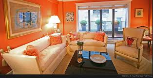 orange livingroom home staging new york what not to do when selling your home