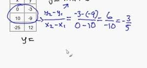 writing linear equations from a table how to write a slope intercept equation given an x y table math