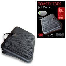 amazon com cozy products tt toasty toes ergonomic heated foot