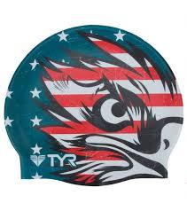 tyr patriot swim cap at swimoutlet