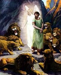 god rescued daniel from the lions den and he can rescue you from