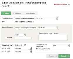 transfert du si e social transfert compte à compte banque cantonale neuchâteloise