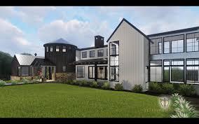 modern farmhouse custom architectural design