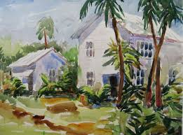Landscape With Houses by House Paintings Home Painting