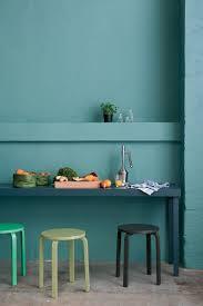 peinture laque pour cuisine peinture cuisine laque satin couleur vert et bleu pétrole
