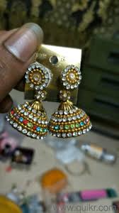 home made earrings home made earrings brand jewellery manpada thane quikrgoods