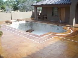 how much value does a pool add to your home ehow decorative concrete can enhance your pool deck and add value