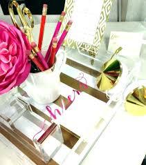 Pink Desk Accessories Set Pink Desk Accessories Kresofineart