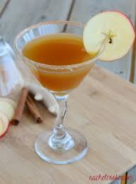 cinnamon apple cider tini a fall mocktail