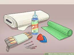 how to make a homemade yoga mat 11 steps with pictures