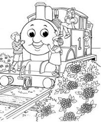 coloring page thomas the train thomas the train things to do