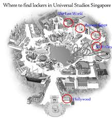 Universal Orlando Map 2015 by Where To Find Lockers At Resorts World Sentosa The Resorts World