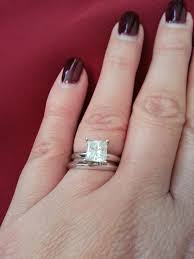 wedding ring with two bands glamorous engagement wedding ring combo 92 with additional