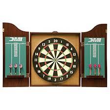 best dart board cabinet amazon com dmi sports recreational dartboard cabinet set safe