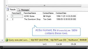 Delete Data From Table Delete All Rows From A Table Sql Training By Sqlsteps Youtube