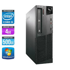 pc de bureau lenovo pc de bureau lenovo thinkcentre m82 i5 3470 4go 500go